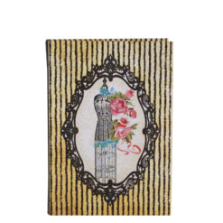 "Vintage Mannequin Luxury Flexible Cover Paper Notebook 7""x5"" Inches (B6)"
