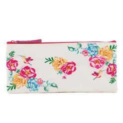 Floral Delight Pencil Pouch