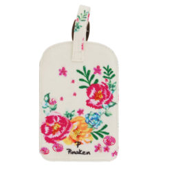 Floral Delight Luggage Tag