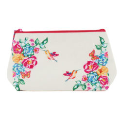 Floral Delight Cosmetic Bag