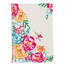 "Floral Delight Notebook 8.5"" X 6"" inches (A5)"