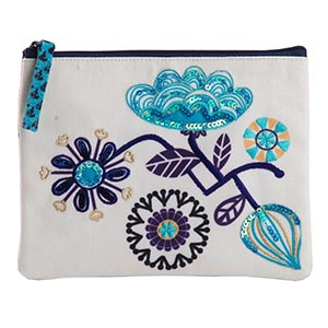 Monday Blues Coin Pouch