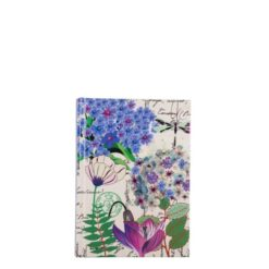 "Botanical Cerise Queen Hard Case Cover Paper Notebook 6""x4"" Inches (A6)"