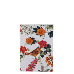 "Botanical Golden Jubilee Luxury Flexible Cover Paper Notebook 6""x4"" Inches (A6)"