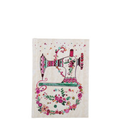 """Floral Vouge Hard Case Cover Paper Notebook 6""""x4"""" Inches (A6)"""