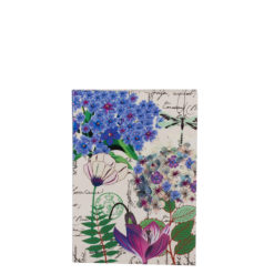 """Botanical Cerise Queen Luxury Flexible Cover Paper Notebook 6""""x4"""" Inches (A6)"""