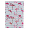 Flamingo Carnations Hard Case Cover Paper Notebook