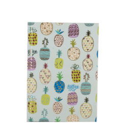 "Fruity Affaire Hard Case Cover Paper Notebook 7""×5"" Inches (B6)"