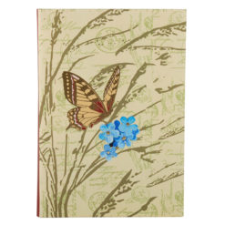 "Botanical Ferns Luxury Flexible Cover Paper Notebook 8.5""×6"" Inches (A5)"