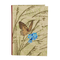 "Botanical Ferns Luxury Flexible Cover Paper Notebook 7""×5"" Inches (B6)"