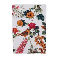 "Botanical Golden Jubilee Hard Case Cover Paper Notebook 8.5""×6"" Inches (A5)"