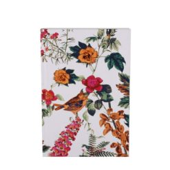 "Botanical Golden Jubilee Luxury Flexible Cover Paper Notebook 7""×5"" Inches (B6)"