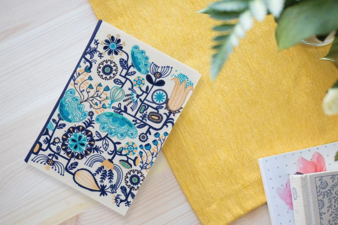 Fabric Notebooks (A5)
