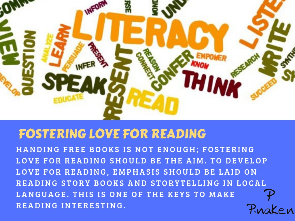 FOSTERING LOVE FOR READING
