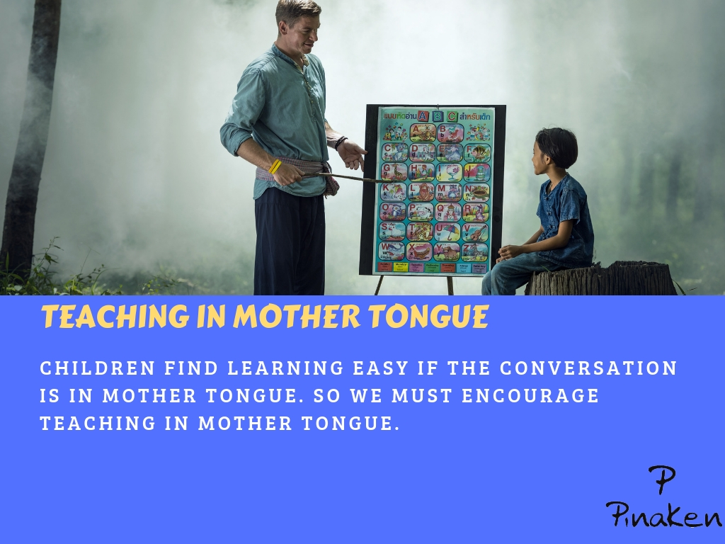 Teaching in mother tongue