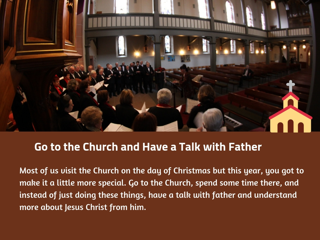 Go to the Church and Have a Talk with Father
