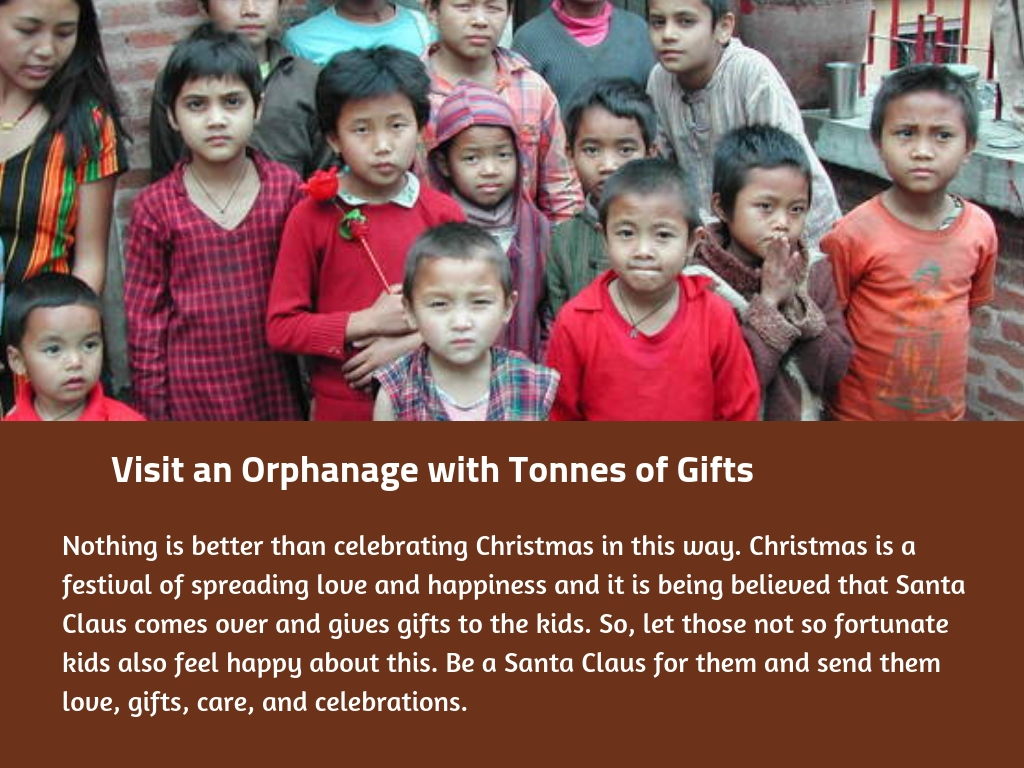 Visit an Orphanage with Tonnes of Gifts