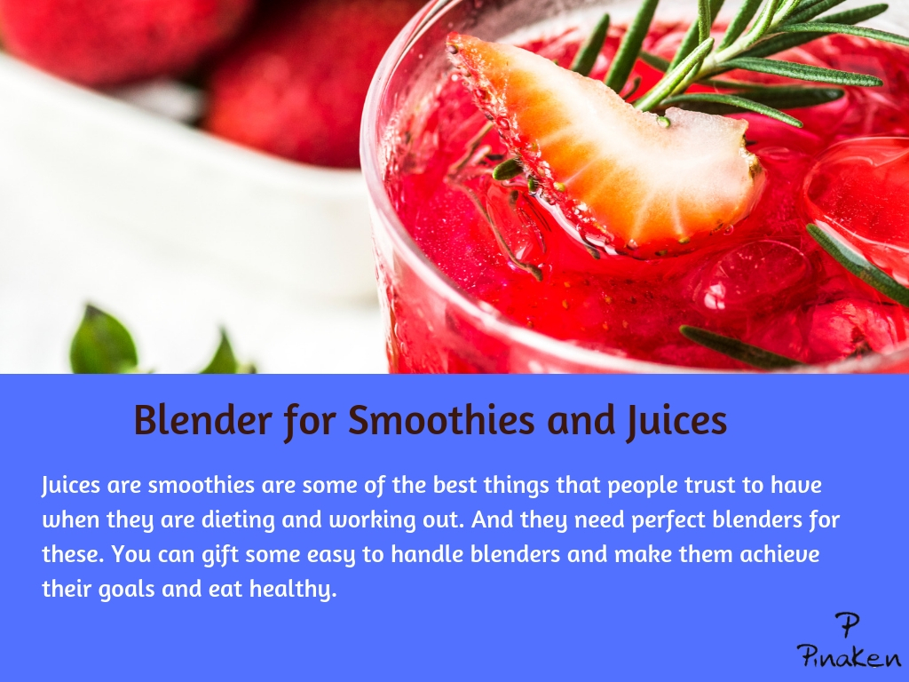 Blender for Smoothies and Juices